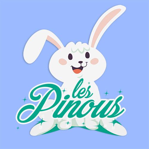 Création Logo Les pinous Besançon