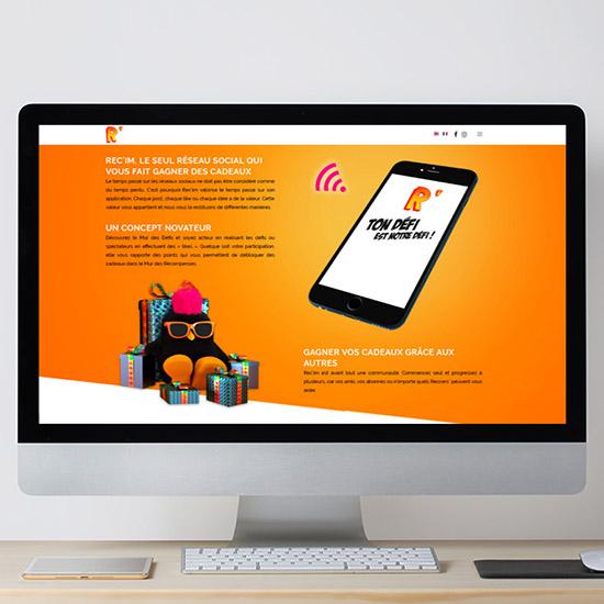 Création site web Besançon rec'im