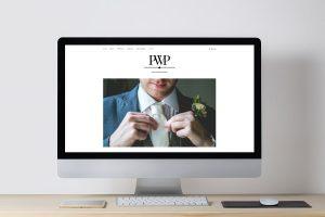 Conception site web photographe mariage Besançon