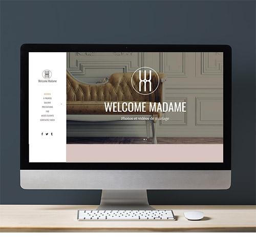 Création site web besançon welcome madame