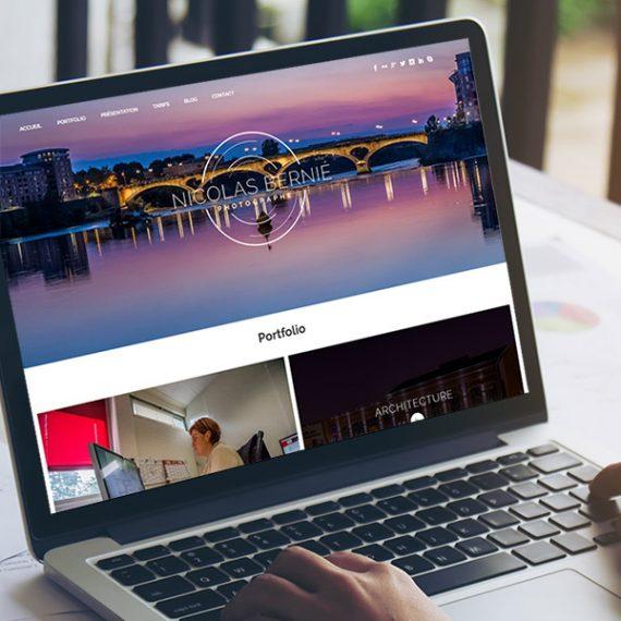 Nicolas Bernié conception site web besançon
