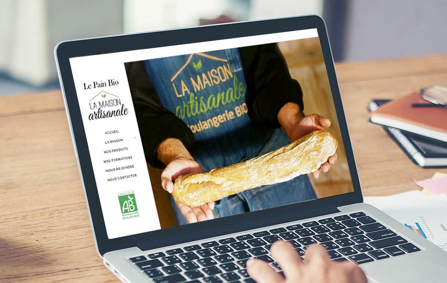 le pain bio la maison site web