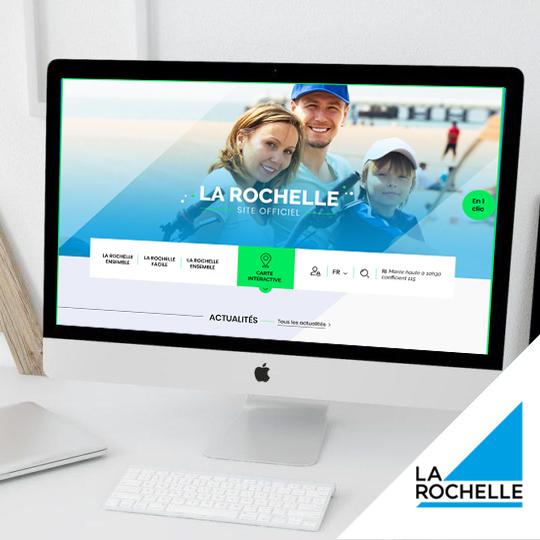 Création maquette site web Besançon la rochelle
