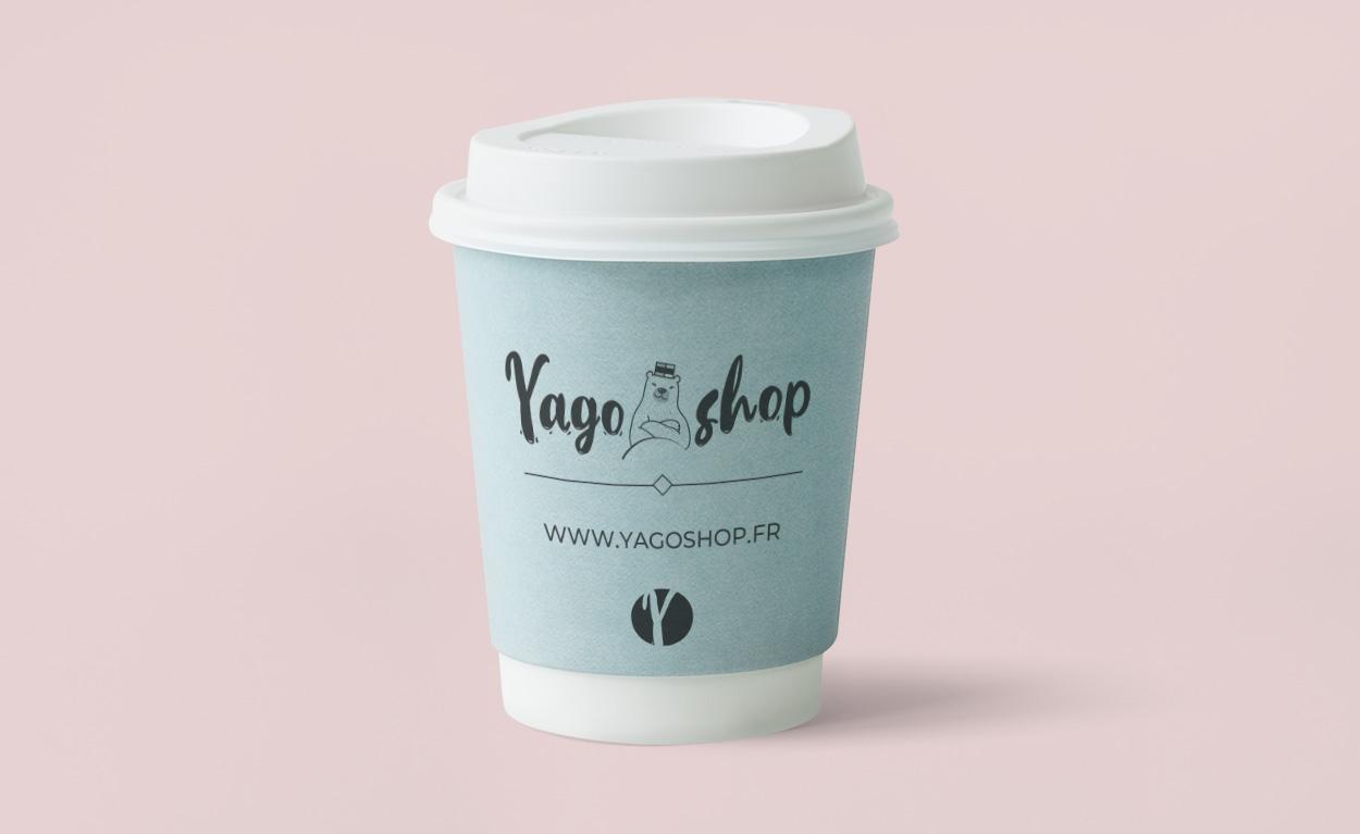 Logo Yagoshop mug