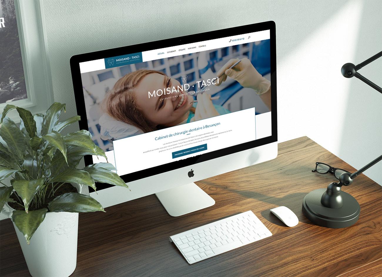création site internet dentistes à Besançon