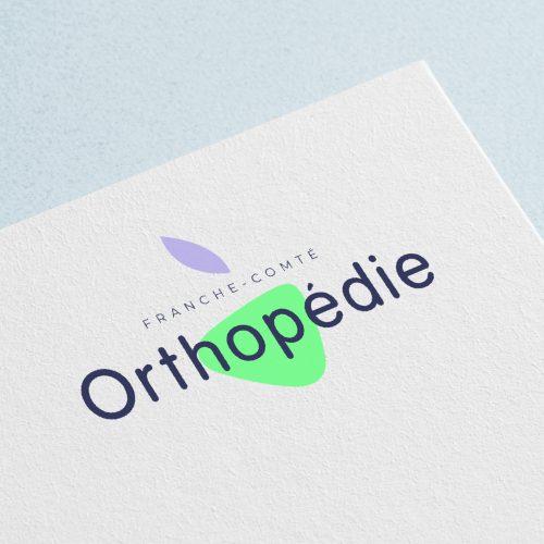 Création logo Besançon Orthopédie